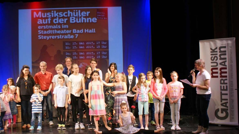 Bühnenluft für unsere Schüler