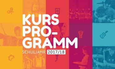 Unser Kursprogramm für 2017/18